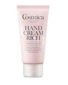 En rik og nærende håndkrem som gjør hendene myke og smidige