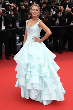 Blake Lively wowed the crowd at the Slack Bay premiere in a princess-worthy ballgown on the festival's thir...