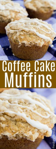 Coffee Cake Muffins - The Diary of a Real Housewife