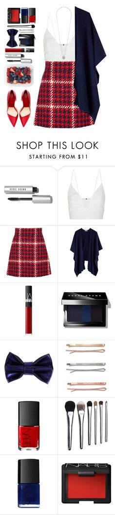 """""""#756 Aimée"""" by blueberrylexie ❤ liked on Polyvore featuring Bobbi Brown Cosmetics, Narciso Rodriguez, Miu Miu, NARS Cosmetics, Patrizia Pepe, Madewell and Dorothy Perkins"""