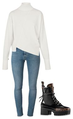 """""""Might link my ting from barking."""" by stephcoco ❤ liked on Polyvore featuring Yves Saint Laurent and Louis Vuitton"""