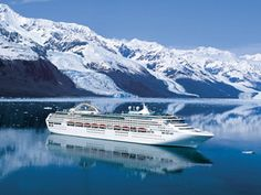 Alaska.  I see a cruise in our future.  Don't know when, exactly -- but it's there.