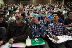 """Colleges Reinvent Classes to Keep More Students in Science - NYTimes.com """"Peer Instruction"""" """"I think it's also dawned on some professors that their T.A.s are now better teachers than they are."""""""