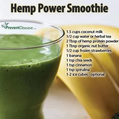 Hemp Power Smoothie