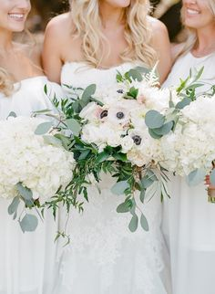 Gorgeous White Outdoor Wedding in Malibu from Rebecca Yale Photography
