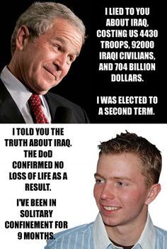 Bush should be hanged for his war crimes.