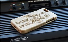 Spaceman iPhone Wood Cases - Maple Wood John Ruvin Supply | Spaceman iPhone Wood Cases - Bamboo Wood from John Ruvin Supply. #johnruvin #johnruvincompany #johnruvinsupply #iphone #wood #woodcase #woodiphonecase #spaceman #space #spaceart #astronaut #scifi