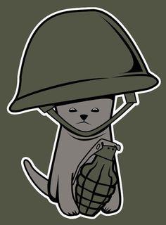 War Kitten - Shirt