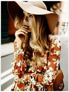 Hat or flowers?