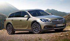 #Opel #InsigniaCountryTourer. Il crossover con assetto rialzato e trazione integrale.
