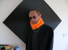 Head or Neck Warmer Cozy Two Tone Safety Orange and by seastudio, $40.00