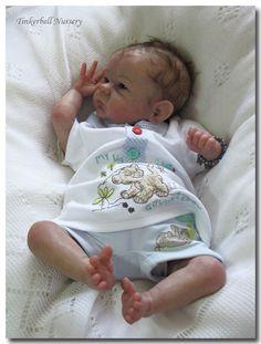 Tinkerbell Nursery Newborn Baby Doll Reborn by Helen Jalland Sculpt Bonnie Brown   eBay