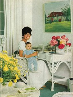 Audrey Hepburn photographed with her son Luca Dotti