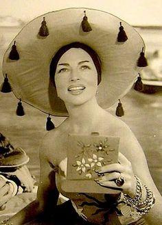Agnes Moorhead (looking beautiful) in captain black jack