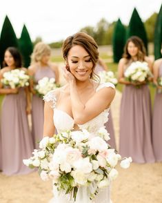 20 Bridesmaid Photos You Need to Have On Your Shot List - Hochzeit - Wedding Group Photos, Wedding Picture Poses, Wedding Poses, Wedding Photoshoot, Wedding Shot List, Wedding Ceremony, Wedding Tips, Wedding Hair, Photoshoot Images