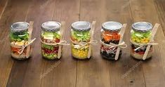 Find healthy food, delicious recipes, nutrition news, and wellness tips at Clean Plates, plus great new food products and restaurants for clean eating. Mason Jar Meals, Meals In A Jar, Mason Jars, Healthy Snacks, Healthy Eating, Healthy Recipes, Stay Healthy, Salad Recipes, Jar Recipes