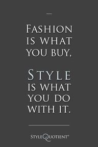 Define Your Own Personal Style.