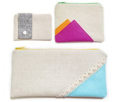 pencilcase, coin pouch, card case