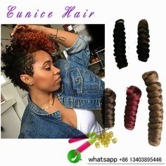 kanekalon curly braiding hair Synthetic curls kanekalon fiber curlskalon ombre braiding hair wand curl bouncy twist extensions
