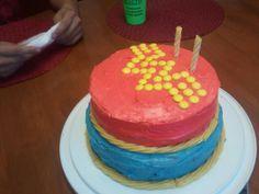 Wonder woman birthday cake for my mom!