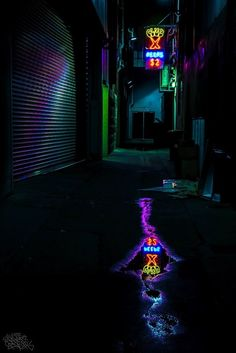Reflected Neon