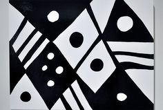 Available for sale from Quint Gallery, Kim MacConnel, Black & White 2 Enamel on wood panel, 30 × 40 in Black And White Abstract, Black White, Pattern And Decoration, Painting Patterns, Wood Paneling, Beautiful Paintings, Abstract Pattern, Contemporary Art, Urban