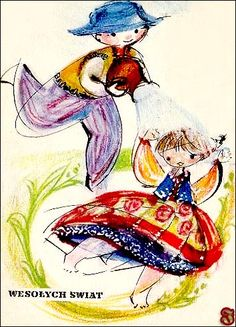 Pocztówki wielkanocne. Hanna Matuszewska. Vintage Postcards, Folklore, Retro Vintage, Art Photography, Disney Characters, Fictional Characters, Creations, Easter, Traditional