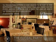 Global party Septembre 2014