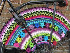 PDF Pattern Color Burst Crochet Skirt Guards von JustDo auf Etsy