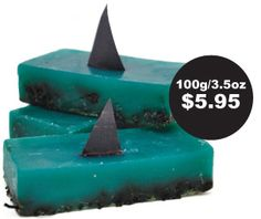 LUSH cosmetics is trying to raise money & awareness about shark finning. I needed this for Shark Week. :)