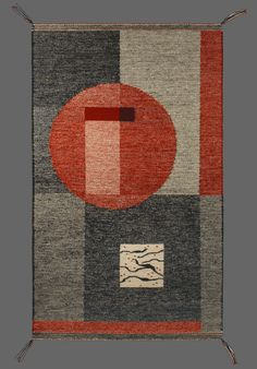 Winter Solstice -wool warp, hand-dyed wool weft -36 by 60 inches, $2,000 by Stephanie Hoppe