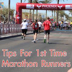 Tips for 1st time marathon runners