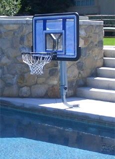 1000 Images About Play Basketball In Your Swimming Pool On Pinterest Basketball Hoop