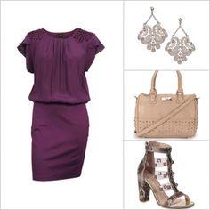 Os vestidos lisos devem ser combinados com acessórios poderosos! http://tempodemoda.climatempo.com.br/Florian%C3%B3polis