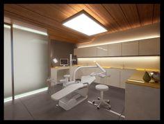 Zena Beauty&Med Center, Hévíz, Hungary - 2010 by MYD-II interior design studio, via Behance Dental Office Design, Medical Design, Healthcare Design, Clinic Interior Design, Clinic Design, Dentist Clinic, Dentist Logo, Cabinet Medical, Dental Office Decor