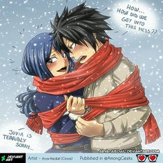 Gruvia  . . . #gruvia #fairytail #gray #grayfullbuster #juvia #juvialockser #FT #Drawing #Shojo #Shoujo #OTP #Relationship #Relationships #Couddle #Couple #Romantic #Fandom #Shipping #Fanboy #Fangirl #Anime #Manga #Otaku #Gamer #Nerdy #Nerd #Comic #Geek #Geeky