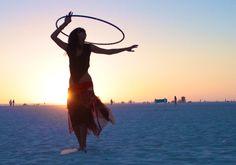 beach hooping