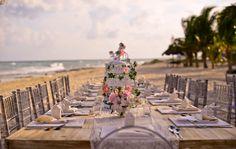 Mariage  romantique  sur la plage