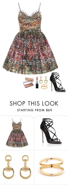 """Untitled #716"" by h1234l on Polyvore featuring Yves Saint Laurent, Dolce&Gabbana, Gucci, MAC Cosmetics and Urban Decay"