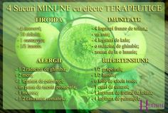 4 sucuri MINUNE cu efecte TERAPEUTICE extraordinare Juicing For Health, Thyroid, Healthy Recipes, Healthy Food, Metabolism, Smoothie, Juice, Slim, Drink