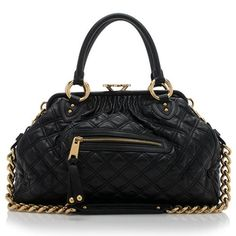 Marc Jacobs Quilted Leather Stam Satchel | Marc Jacobs Handbags | Bag Borrow or Steal