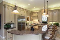 silver cloud granite countertop w/ white cabnets - Google Search