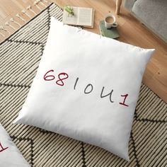 'Rise & Shine' Floor Pillow by quotesandcoffee Bed Pillows, Art Prints, Printed, Shopping, Awesome, Sexy, Fun, Products, Pillows