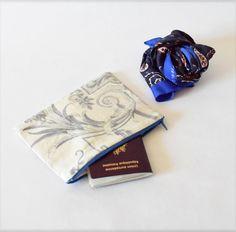 Pochette vintage, Trousse,  pochette de voyage, organisateur de sac ,  #rentrée #etsy #etsyfr #etsyseller #etsyversailles #alittlemarket #madeinfrance