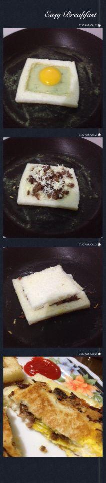 Lamb Cheese Sandwich