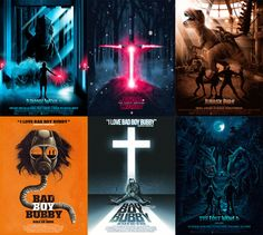 Movie Poster Illustrations by Patrick Connan: http://www.playmagazine.info/movie-poster-illustrations-patrick-connan/