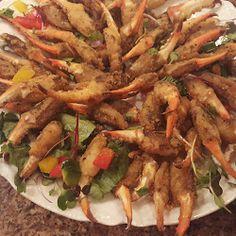 Local Seafood PCB-Golden fried crab fingers- Boar's Head Restaurant & Tavern --Panama City Beach, Florida  boarsheadrestaurant.com