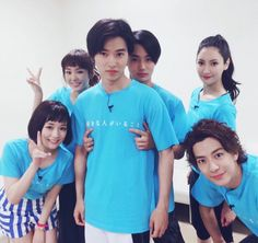 "[Kento's 7th VS Arashi, 07/07/16] https://www.youtube.com/watch?v=-DWpyQkYMx8 Team ""Sukina hito ga iru koto"", Mirei Kiritani x Kento Yamazaki x Shohei Miura x Shuhei Nomura x Nanao x Sakurako Ohara, J drama ""Sukina hito ga iru koto"", Jul/11/2016"