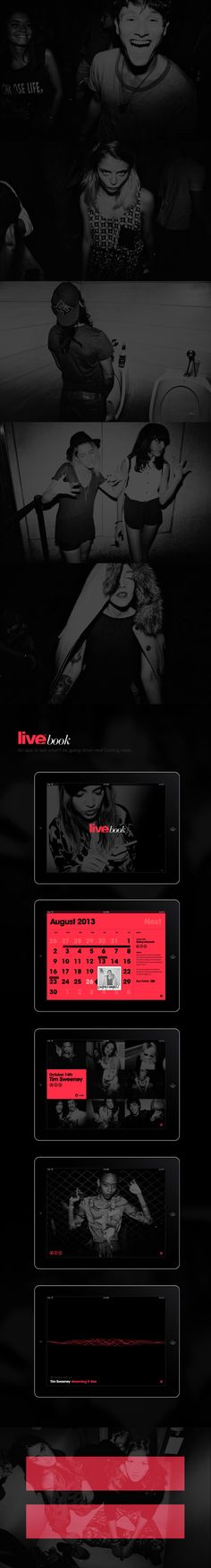 Live Club by ICK Studio | Living Brands™ , via Behance