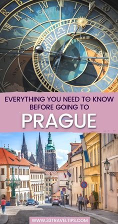 The Czech capital offers unique activities you can't find elsewhere. These 33 Prague travel tips will help you have a fantastic visit to the Golden City. | Visit Prague Czech Republic | Prague travel guide Prague Travel Guide, Europe Travel Guide, Us Travel, Need To Know, Everything, Visit Prague, Travel Through Europe, Road Trip Europe, Prague Czech Republic